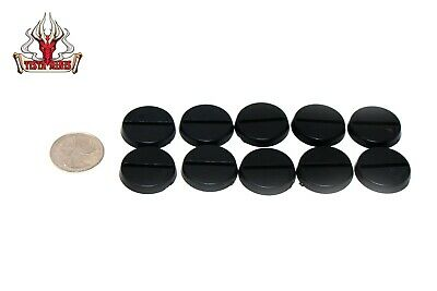 Warhammer 25mm Slotted Circle Bases x10