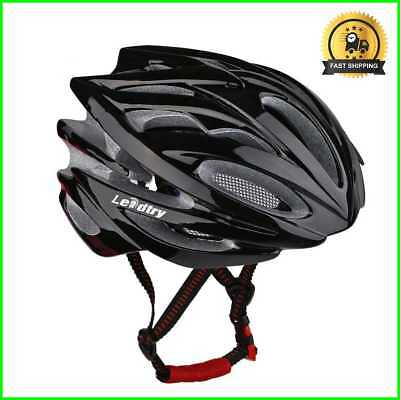 HM-1 Bicycle Helmet Ultralight Molded EPS Safety for Cycling/Road/Mountain Black