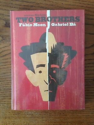 Two Brothers Comic by Fabio Moon & Gabriel Ba (Hardback) New & Sealed
