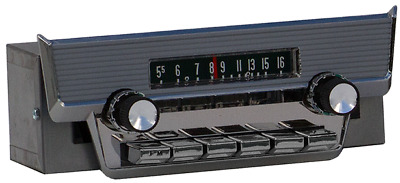 1958 Ford Thunderbird AM FM Bluetooth® Radio HAND MADE IN THE USA!