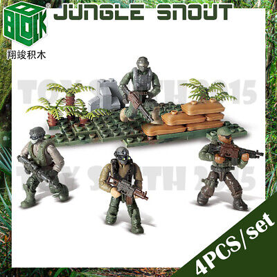 Call of Duty Building Blocks Bricks Models Military Soldiers Army Figures