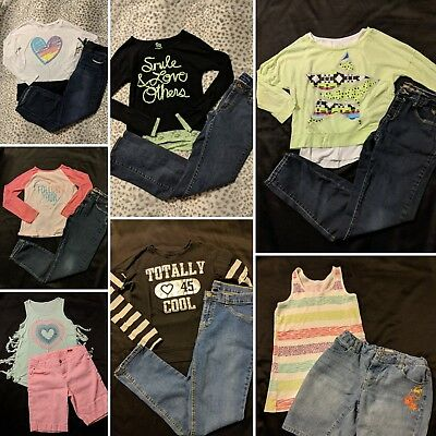 Girls Size 14.5 Back To School Fall & Winter Lot