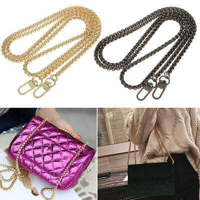 1x Replacement Purse Chain Strap Handle Shoulder For Crossbody Handbag Bag Meta