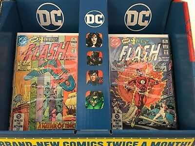 The Flash #311 and #312 - DC Comics 1982 - High Grade!