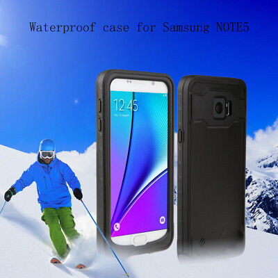 For Samsung Galaxy  note 5 Waterproof case Full body screen protecti diving