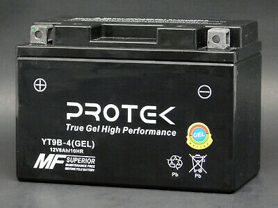 YT9B-BS YT9B-4 Maintenance Free 12V AGM Gel Battery Motorcycle Powersports ATV