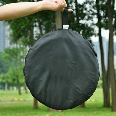 """US Handheld 110cm 43"""" 5 in 1 Light Multi Collapsible Photo Reflector Board Disc"""