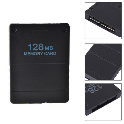 128MB Plastic Memory Card Save Game Data Stick Module For Sony PS2 PlayStation 2