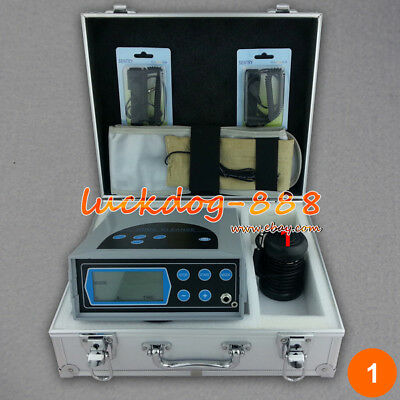 Lcd Detox Machine Cell Ion Ionic Aqua Foot Bath Spa Chi Cleanse Fir Belt 5 Modes