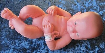 "14"" Berenguer New Born Baby Doll Numbered 100.001"