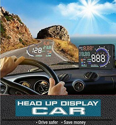 "BW, display HUD universale da 5,5"" con ampio schermo multicolore, display (t5s)"