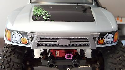Axial scx10 Honcho body Front Grill mask Hilux Tacoma style RC car crawler