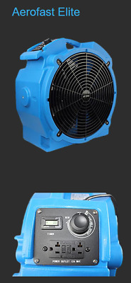 Bed Bug Commercial Air Movers   Aerofast Elite is the best low amp axial fan
