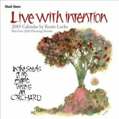 Live with Intention Wall Calendar by Brush Dance 9781610466943 (Calendar, 2018)