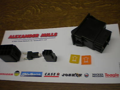 Tractor Beacon Rocker Switch Kit Case IH Fiat Ford New Holland Massey Tractor