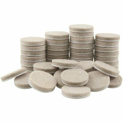 48pcs Round Furniture Felt Pads for hard Surfaces Floor Protectors