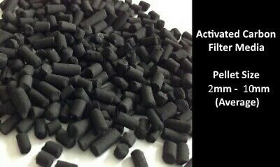Premium Activated Carbon Charcoal Granulated for Aquarium Fish Tank Filter Media