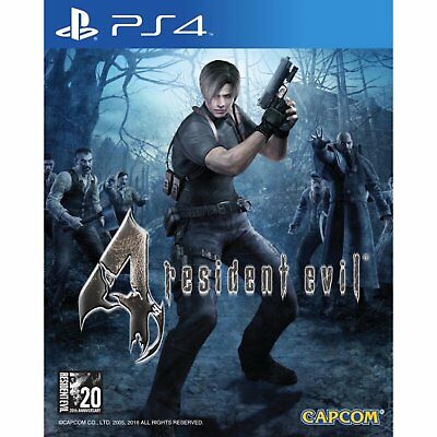 Resident Evil 4 (Bio Hazard 4) (English/Chi Ver) For Sony PS4