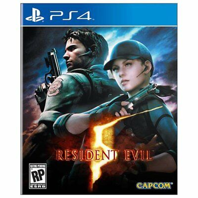 Resident Evil 5 (Bio Hazard 5) with DLC (English/Chi Ver) For Sony PS4