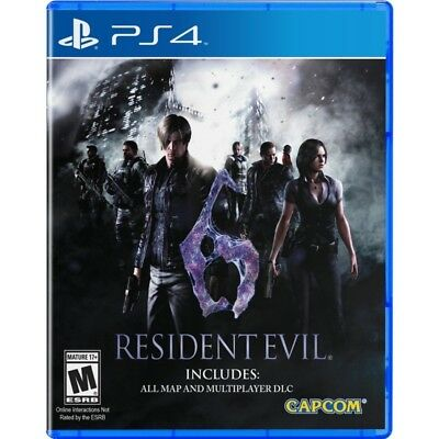 Resident Evil 6 (Bio Hazard 6) with DLC (English/Chi Ver) For Sony PS4