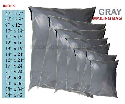 Parcel Bags Mail Bags Grey Poly Postal Bags Strong Postage Bags Post Packing