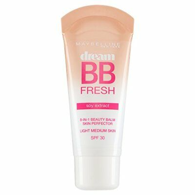 Maybelline Dream BB Fresh Soy Extract 8in1 Beauty Balm SPF30 - Light Medium