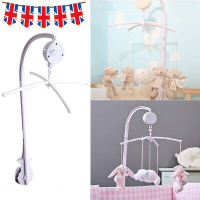 Baby Crib Mobile Bed Bell Holder Toy Arm Bracket Wind-up Music Box DIY Hanging