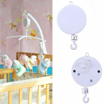 Rotary Baby Kids Crib Mobile Bed Bell Toy Wind-up Music Box UK STOCK