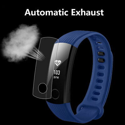 2x TPU Clear Explosion Proof Soft Front Screen Protector For Huawei Honor Band 3