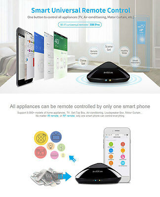 2018 UPDATED VERSION Broadlink RM Pro+ Smart Home Automation