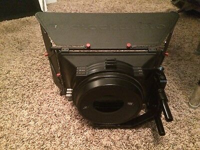 Redrock Micro 3-stage Red matte box for Red One, Scarlet / Epic, Dragon, Helium