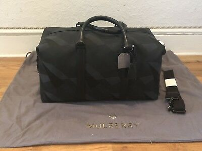 00c365b1115b MULBERRY GREEN DAZZLE Camo Canvas Holdall Weekend Travel Bag RRP£795 ...