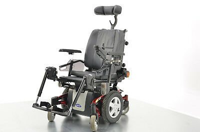 2012 Invacare TDX SP 6mph Class 2 Powerchair Electric Wheelchair In Red 18 Seat
