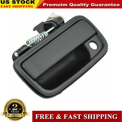 Outside Exterior Door Handle Black Left Hand For 1995-2004 Tacoma Toyota