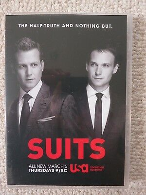 Suits Season 3 Episodes 11/12 Buried Secrets / Yesterday's Gone DVD Screener NEW