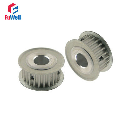 2pcs 5M 25T Timing Pulley Inner Bore 5/6/6.35/8/10/12/12.7/14/15/16/17/20mm 5mm