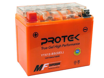 YTX12-BS 12V Gel Battery for Suzuki V-Strom DL650 SV650 Boulevard C50 M50 VL800
