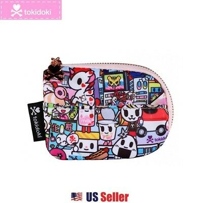 Tokidoki Small Zip Coin Purse Mini Pouch Bag : Kawaii Metropolis Collection