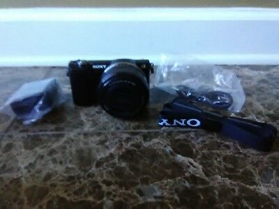 Sony Alpha a5000 Mirrorless Camera KIT with 16-50mm Retractable OSS Lens