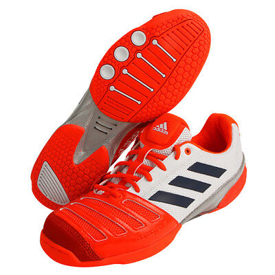 adidas DARTAGNAN V Men's Fencing Shoes Fencer Foil Red Orange Indoor NWT BA9079