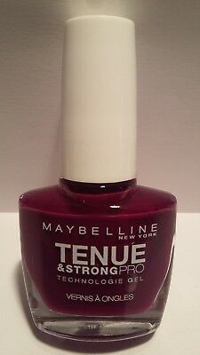 Vernis à Ongles Tenue Et Strong Pro 270 Ever Burgundy Gemey Maybelline