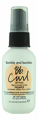 Bumble and bumble Bb.Curl Pre-Style/Re-Style Primer 2 oz. Sealed Fresh