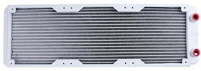 360mm 18 Tube Straight Thread Heat Radiator Exchanger for PC Water Cooling White