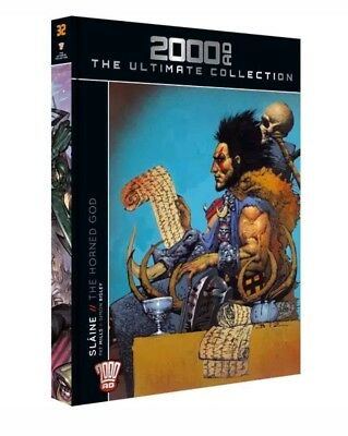SLAINE THE HORNED GOD (2000AD Ultimate Collection / Issue #1 / Vol 32 ) book