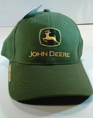 NWT John Deere Owners Edition Mens 100% Cotton One Size Fits All Cap Free Ship!!