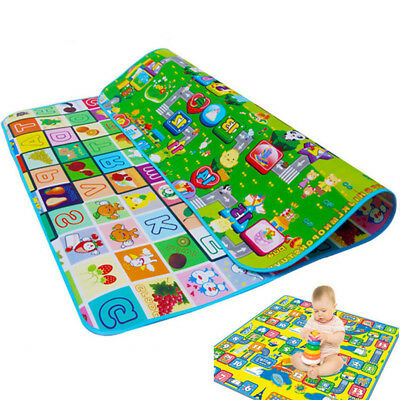 A00F Practical Baby Child Toddler Crawling Safe Mat  Cushion Christmas gift