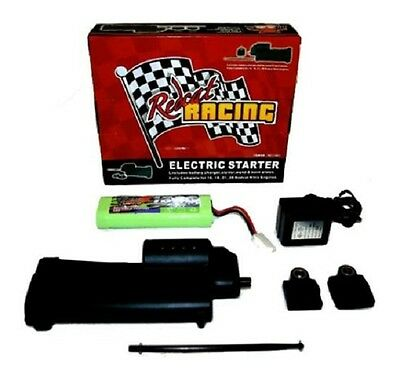 ELECTRIC STARTER KIT w/Starter Gun,2 Back Plates,Battery, Wand REDCAT 70111E-Kit