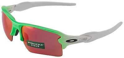 dc9cd9c2d6f OAKLEY OO 9188-43 FLAK 2.0 XL Green Fade with Prizm Field Lens Mens ...