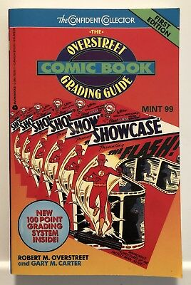 Overstreet price guide to Comics 1st First Edition GRADING Comics guide