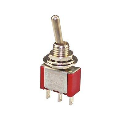 AC 250V 15A Latching 3 Way On-Off-On Single Pole Double Throw Toggle Switch L6N7